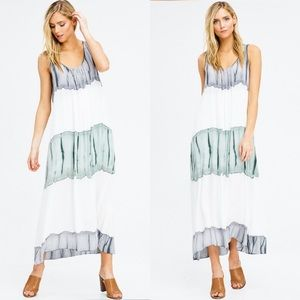 **Only 2 left!**Tie Dye Maxi Dress